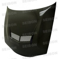 VSII-STYLE CARBON FIBER HOOD FOR 1995-1999 MITSUBISHI ECLIPSE