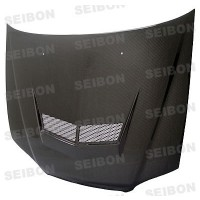 VSII-style carbon fiber hood for 1998-2002 Honda Accord 2DR