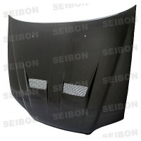 XT-style carbon fiber hood for 1998-2002 Honda Accord 2DR