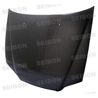 OEM-style carbon fiber hood for 1998-2002 Honda Accord 4DR