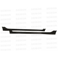 MG-style carbon fiber side skirts for 2006-2010 Honda Civic 4DR JDM / Acura CSX