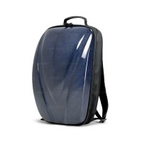 CARBON FIBER HARD SHELL BACKPACK - Blue