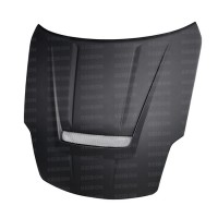VSII-style DRY CARBON hood for 2002-2006 Nissan 350Z..*ALL DRY CARBON PRODUCTS ARE MATTE FINISH!