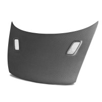 MG-style carbon fiber hood for 2006-2010 Honda Civic 2DR (Matte Finish)