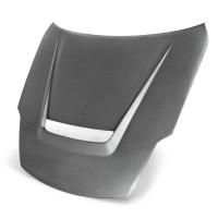 VSII-Style Carbon Fiber Hood for 2002-2008 Nissan 350Z (Matte Finish)