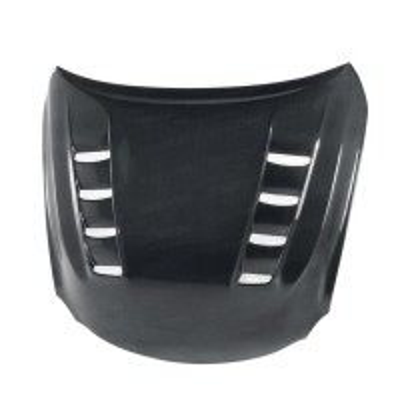 TSII-style carbon fiber hood for 2008-2010 Lexus ISF