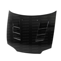 TS-style carbon fiber hood for 1992-1995 Honda Civic 2DR/3DR