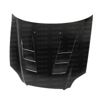 TS-style carbon fiber hood for 1996-1998 Honda Civic
