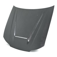 VSII-style silver string carbon hood for 1999-2001 Nissan S15
