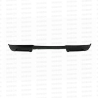 SS-style carbon fiber rear lip for 2007-2008 Toyota Yaris Liftback