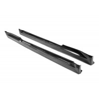 OE-style carbon fiber side skirts for 2011-2013 Scion TC