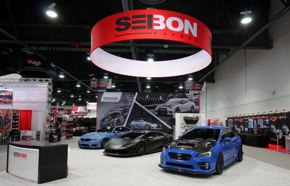 SEMA 2015: A Look at Seibon Carbon's Booth