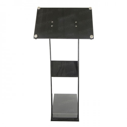 Display Stand (S) includes metal plate