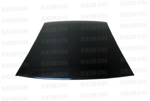 Carbon fiber roof cover for 2003-2007 Mitsubishi Lancer EVO  *THIS PRODUCT GOES ON TOP OF THE STOCK ROOF. IT IS NOT A ROOF REPLACEMENT.