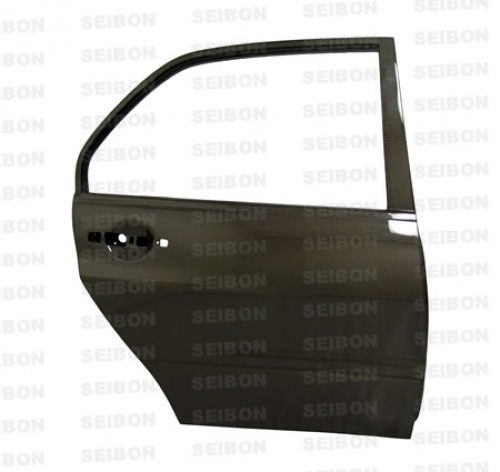 OEM-STYLE CARBON FIBER DOORS FOR 2003-2007 MITSUBISHI LANCER / EVO - Rear*