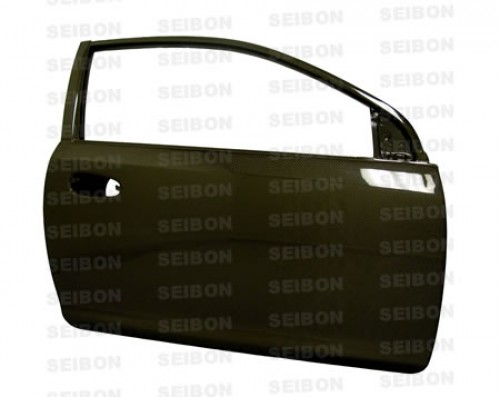OEM-style carbon fiber doors for 1992-1995 Honda Civic 2DR *OFF ROAD USE ONLY! (pair)