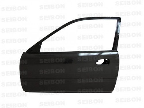 OEM-style carbon fiber doors for 1996-2000 Honda Civic 2DR *OFF ROAD USE ONLY! (pair)