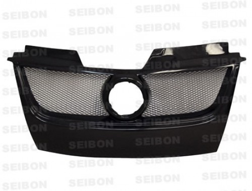 TB-STYLE CARBON FIBER FRONT GRILLE FOR 2006-2009 VOLKSWAGEN GOLF GTI