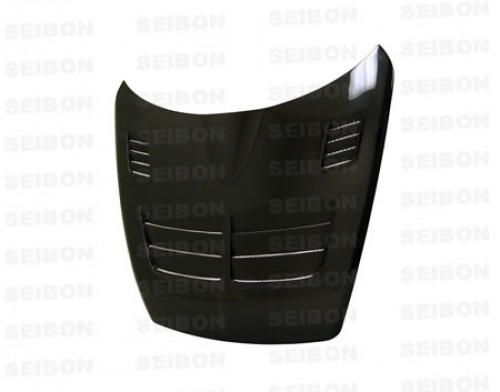 TSII-style carbon fiber hood for 2004-2008 Mazda RX8