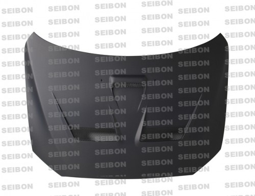 CW-STYLE DRY CARBON HOOD FOR 2008-2015 MITSUBISHI LANCER EVO X*