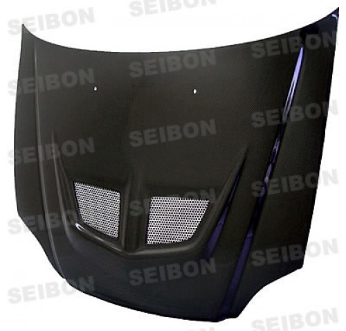 EVO-style carbon fiber hood for 1999-2000 Honda Civic