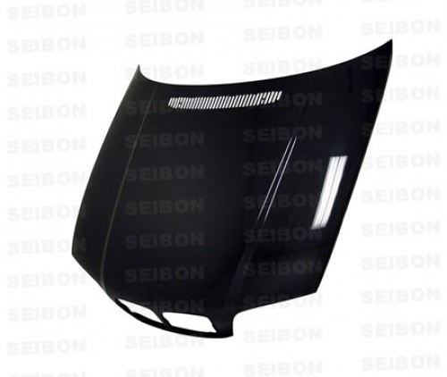 OEM-STYLE CARBON FIBER HOOD FOR 2000-2003 BMW E46 3 SERIES COUPE