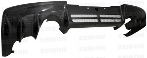 OEM-style carbon fiber rear diffuser for 2008-2012 Mitsubishi Lancer EVO X