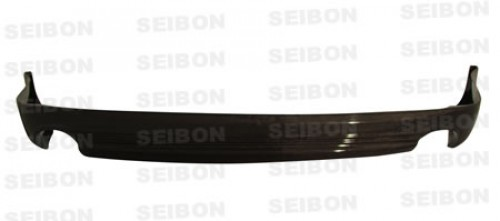 TS-STYLE CARBON FIBER REAR LIP FOR 2006-2013 LEXUS IS SEDAN