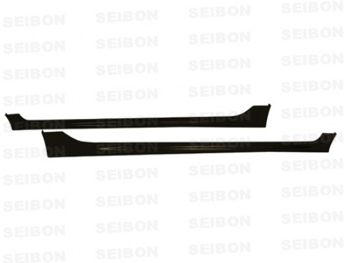 MG-STYLE CARBON FIBER SIDE SKIRTS FOR 2006-2010 HONDA CIVIC SEDAN