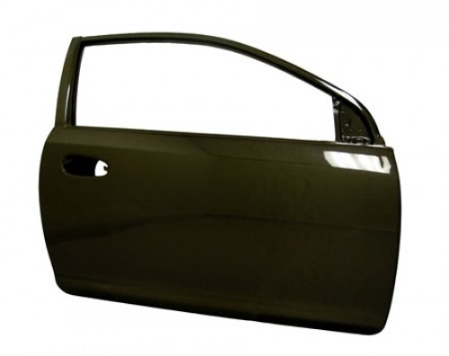 OEM-STYLE CARBON FIBER DOORS FOR 2002-2005 HONDA CIVIC SI*