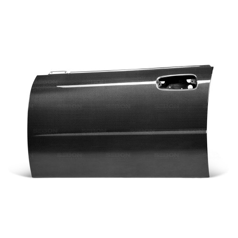 OEM-STYLE CARBON FIBER DOORS FOR 2002-2007 SUBARU IMPREZA / WRX / STI - Front*