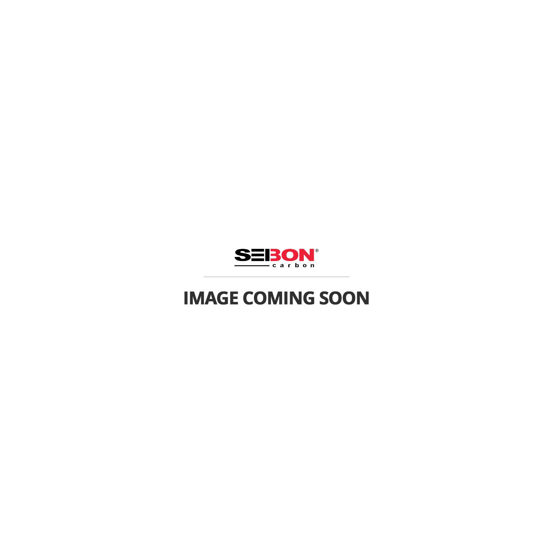 SEIBON CARBON LOGO DECALS - Silver Reflective