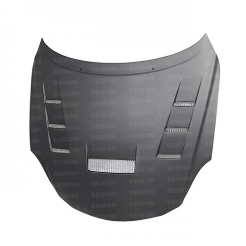 TV-STYLE DRY CARBON FIBER HOOD FOR 2001-2010 LEXUS SC 430*