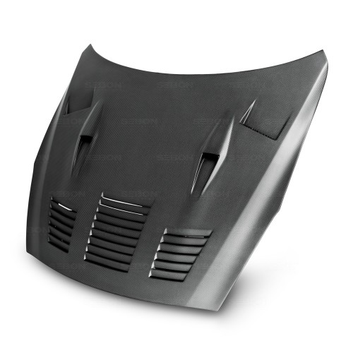 GTII-STYLE DRY CARBON HOOD FOR 2009-2016 NISSAN GT-R*