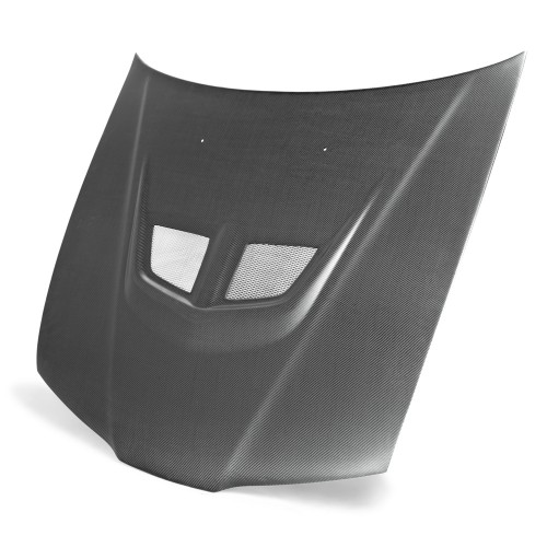 EVO-Style Carbon Fiber Hood for 1992-1996 Honda Prelude (Matte Finish)