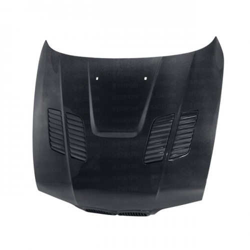 GTR-STYLE CARBON FIBER HOOD FOR 1997-2003 BMW E39 5 SERIES / M5
