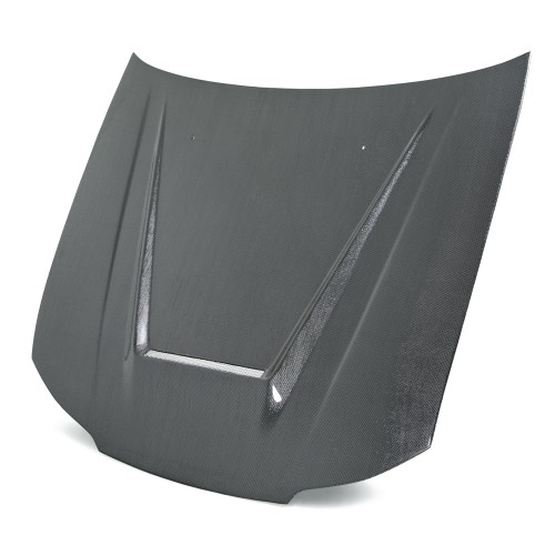 VSII-STYLE SILVER STRING CARBON HOOD FOR 1999-2002 NISSAN SILVIA S15