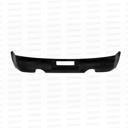 TS-STYLE CARBON FIBER REAR LIP FOR 2003-2007 INFINITI G35 COUPE