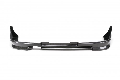 CW-STYLE CARBON FIBER REAR LIP FOR 2006-2007 SUBARU IMPREZA / WRX / STI SEDAN - Straight Weave
