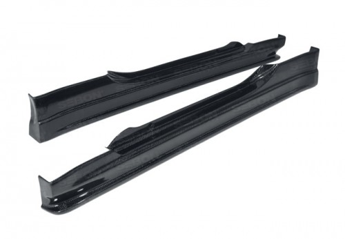 CW-style carbon fiber side skirts for 2002-2005 Nissan 350Z