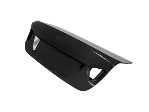 OEM-STYLE CARBON FIBER TRUNK LID FOR 2006-2008 BMW E90 3 SERIES / M3 SEDAN - Straight Weave