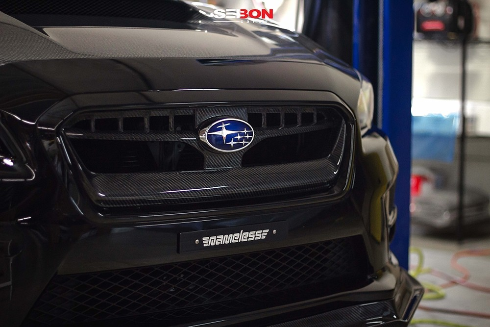 2015 Subaru Wrx For Sale >> OEM-STYLE CARBON FIBER FRONT GRILLE FOR 2015-2017 SUBARU ...