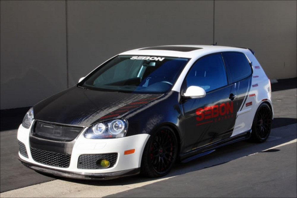 What Does Gti Stand For >> OEM-style carbon fiber hood for 2006-2008 VW Golf GTI (Shaved)