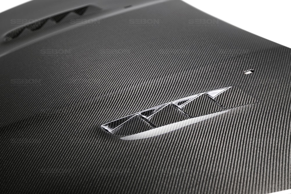 rs style carbon fiber hood    ford focus