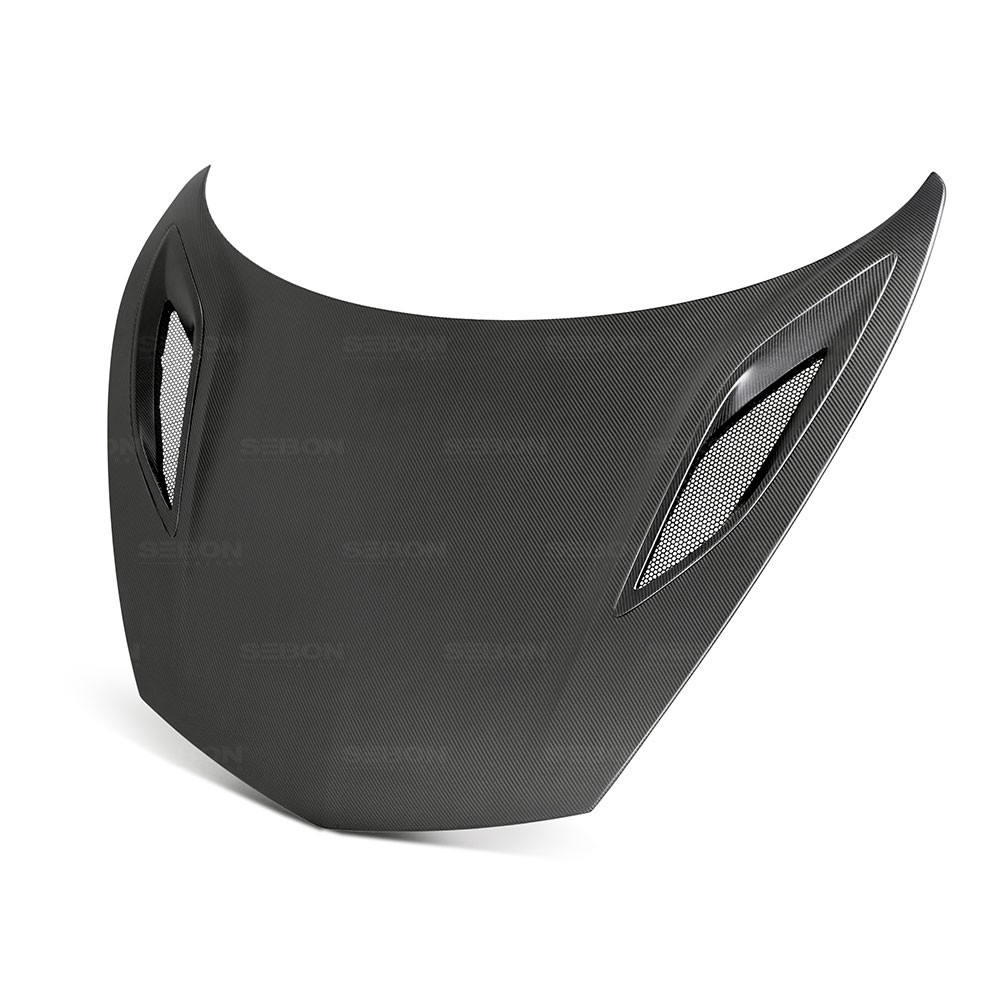OEM-STYLE DRY CARBON HOOD FOR 2017-2018 ACURA NSX