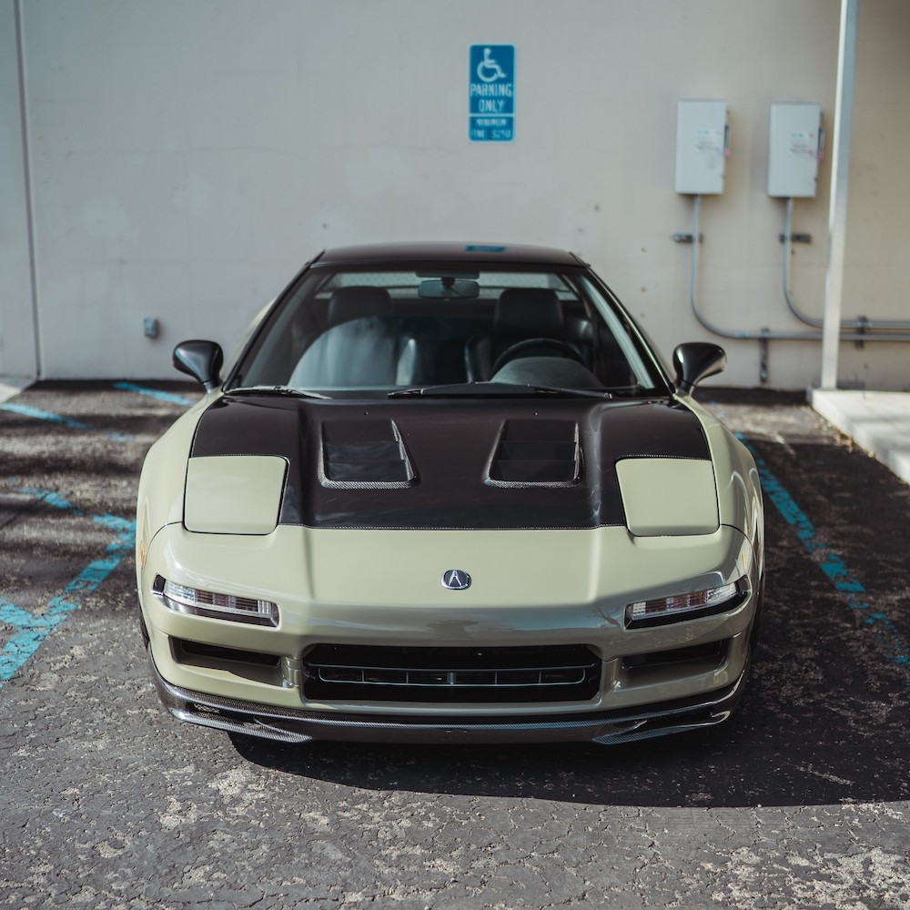 CW-style Carbon Fiber Hood For 1992-2001 Acura NSX