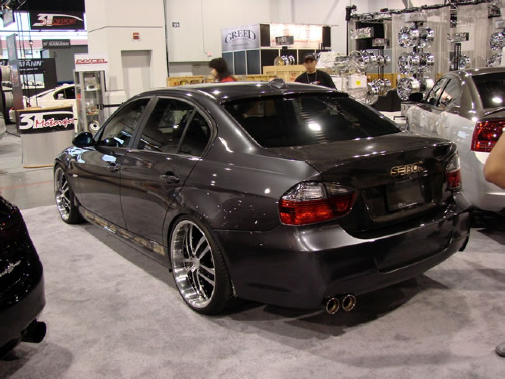 BMW 335Xi For Sale >> CSL-STYLE CARBON FIBER TRUNK LID FOR 2006-2008 BMW E90 3 ...
