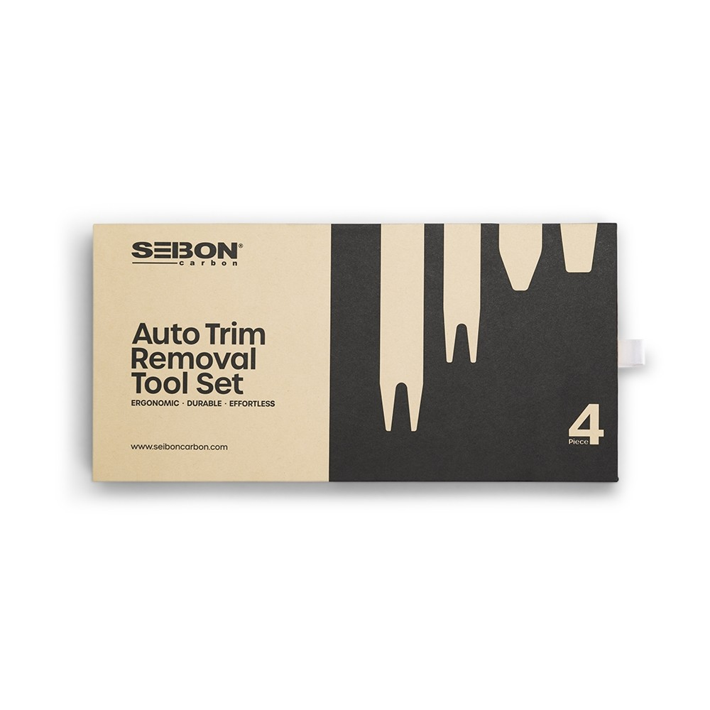 SEIBON CARBON AUTO TRIM REMOVAL TOOL SET - 4 pcs