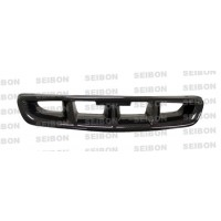 MG-STYLE CARBON FIBER FRONT GRILLE FOR 1996-1998 HONDA CIVIC