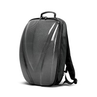 CARBON FIBER HARD SHELL BACKPACK - Black